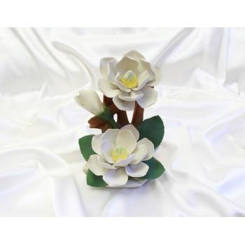 Фарфоровый цветок Магнолии