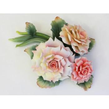 Фарфоровая скульптура Букет роз