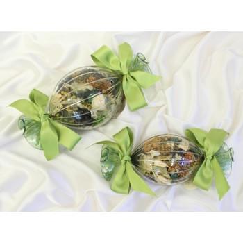 Саше-попурри в форме конфетки