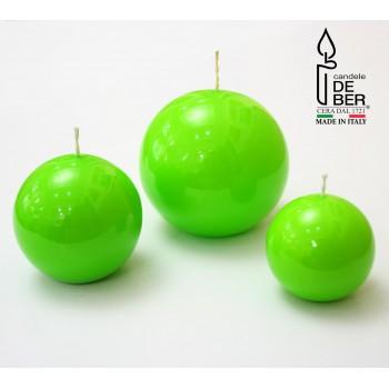 Свеча круглая Green