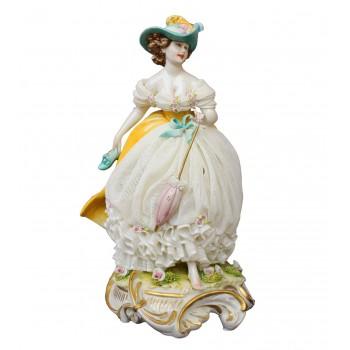 Статуэтка Дама в шляпке