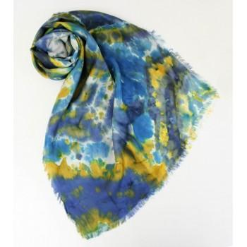 Шелковый шарф батик Праздник