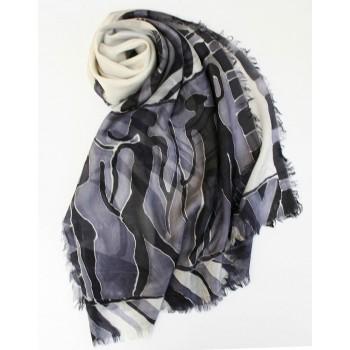 Шелковый шарф батик Саванна