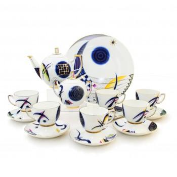 Чайный сервиз Кандинский блюз