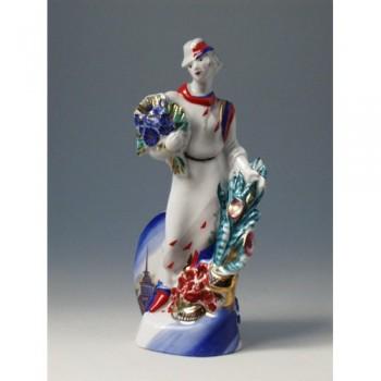 Скульптура Цветочница