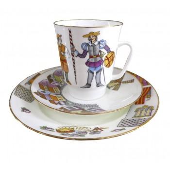 Трехпредметный комплект кофейный Дон Кихот