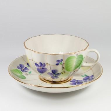 Чайная пара Лесная фиалка