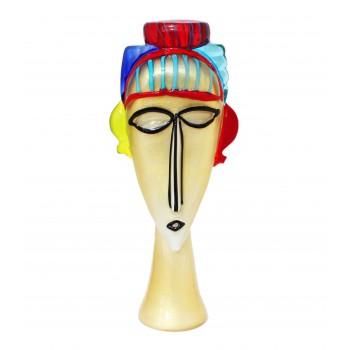 Интерьерная скульптура Золотая маска