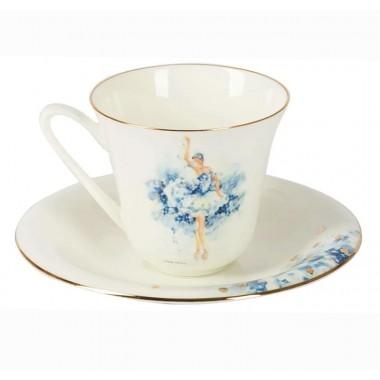 Чашка с блюдцем Фея Нежности