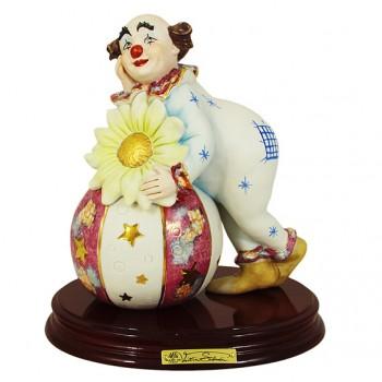 Статуэтка Клоун с магическим шаром