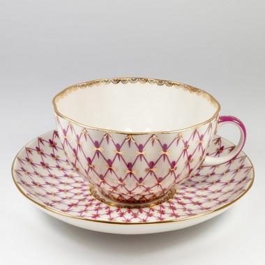 Чайная пара Сетка-блюз